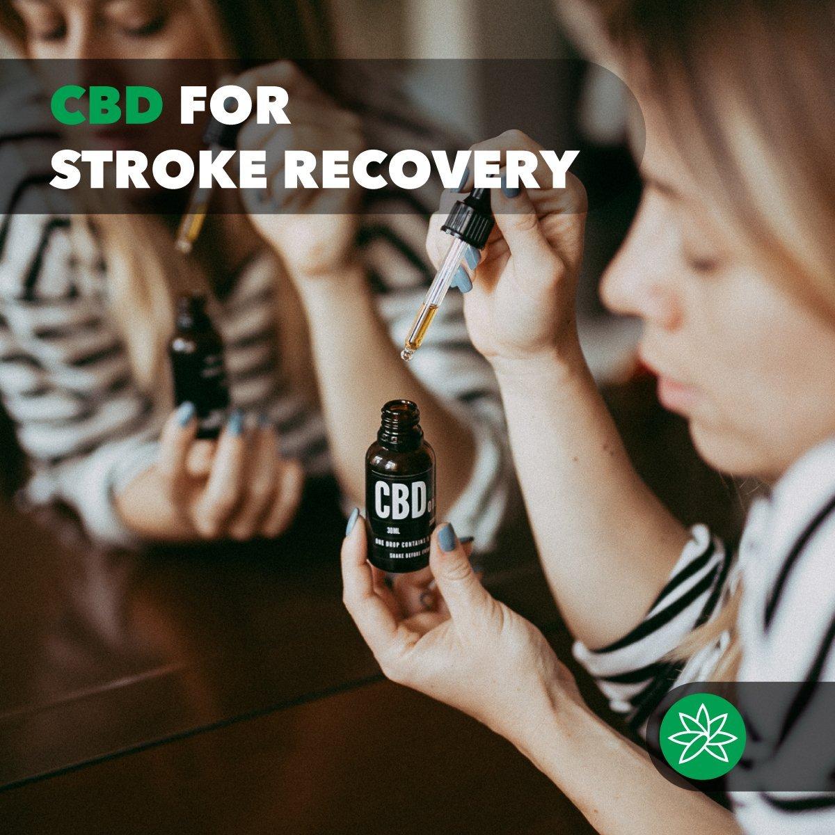 CBD for stroke recovery