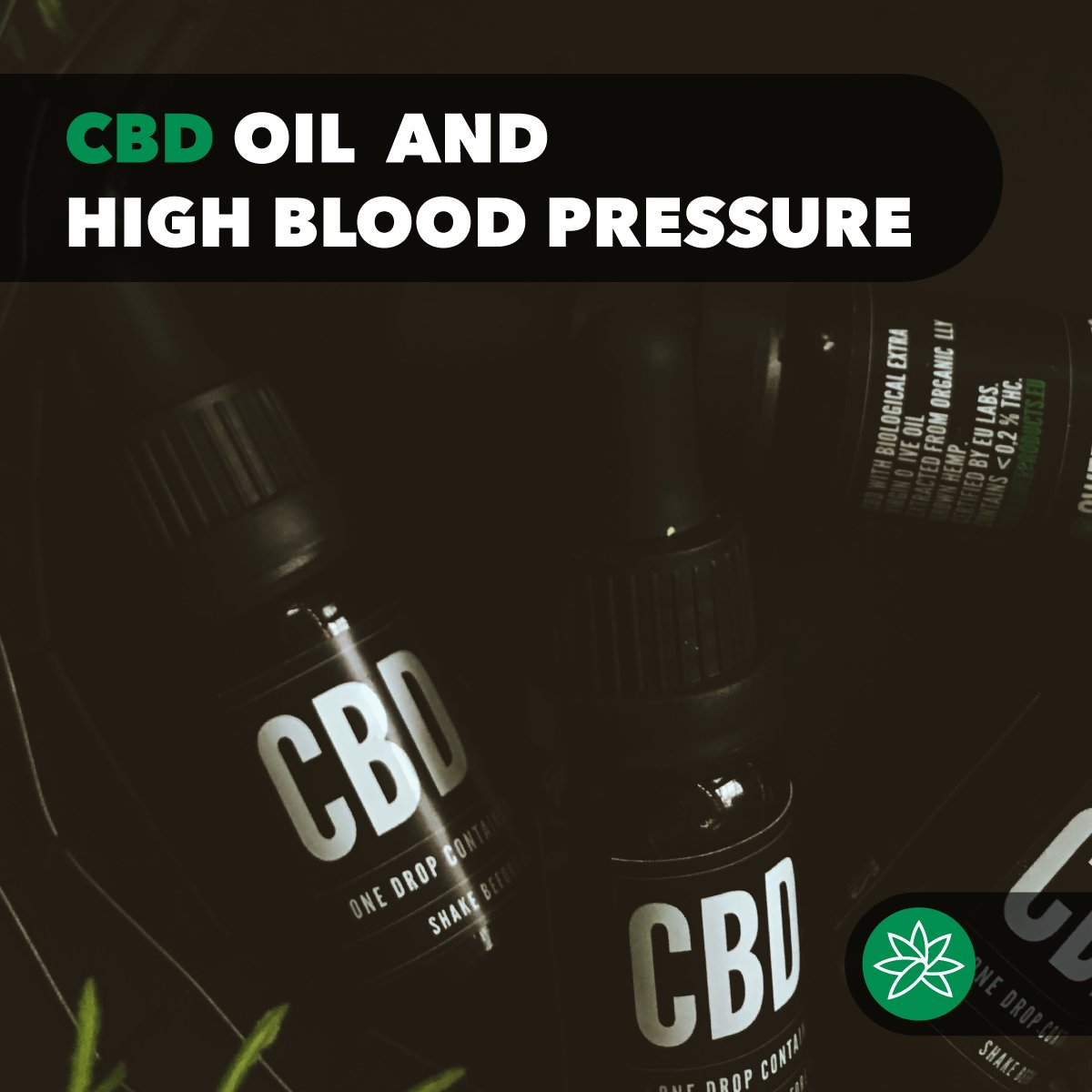 CBD oil and high blood pressure