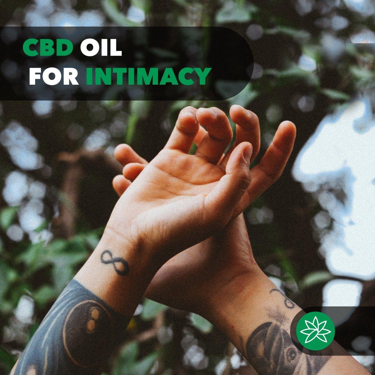 CBD oil for intimacy