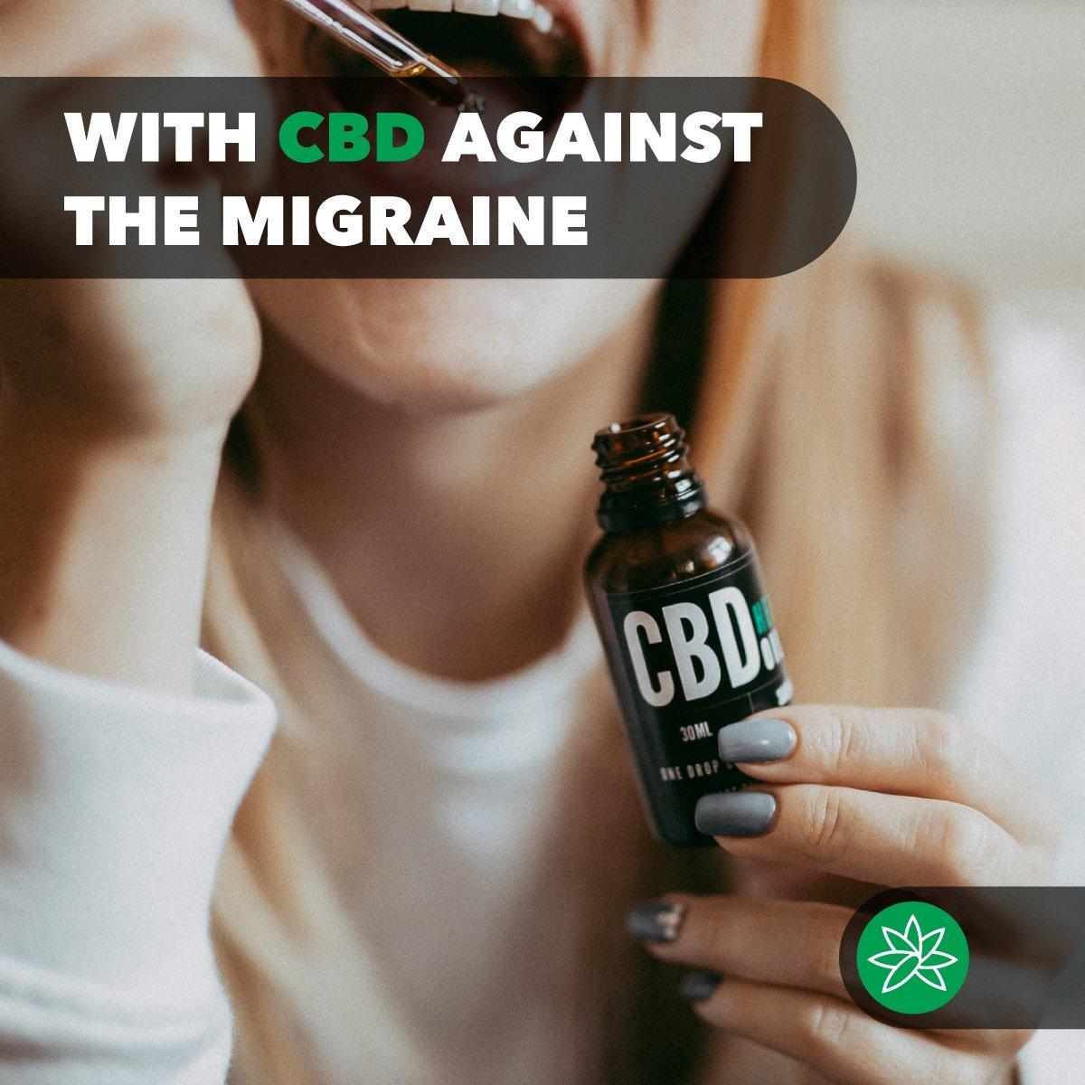 With CBD against the migraine