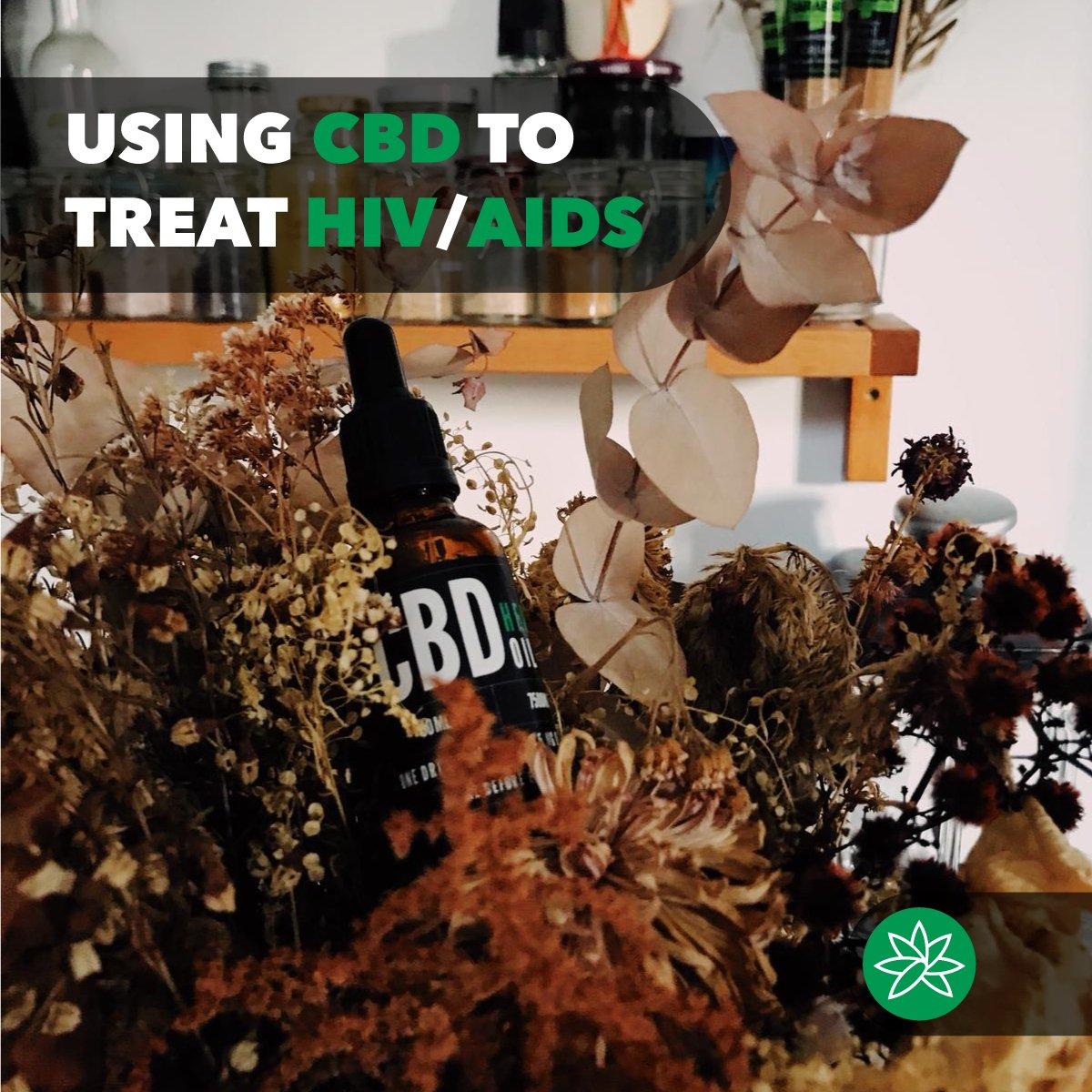 Using CBD to treat HIV/AIDS