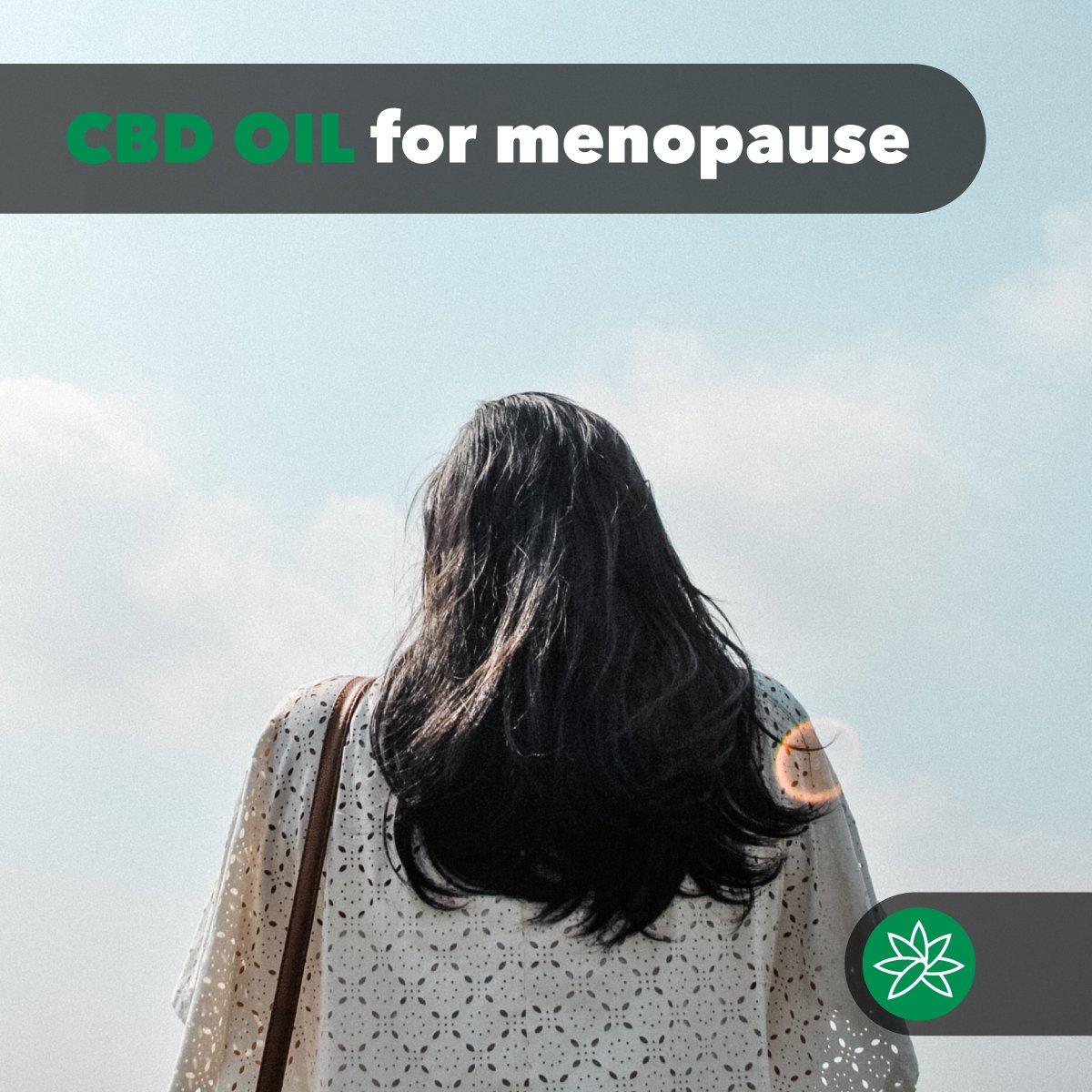 CBD oil for menopause