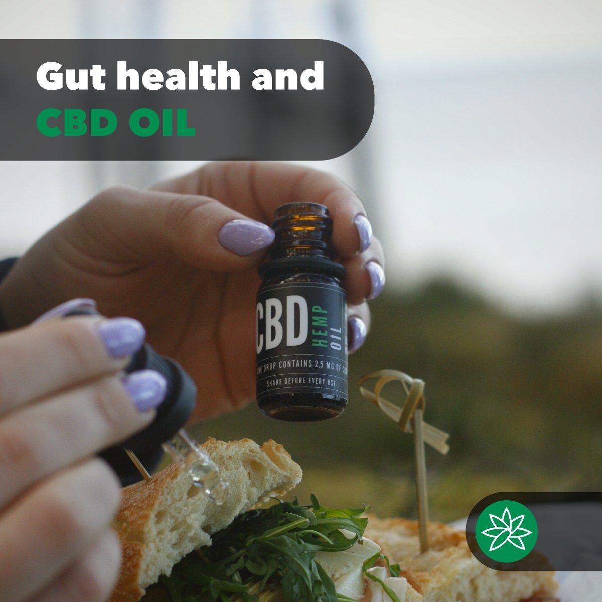 Gut health and CBD oil