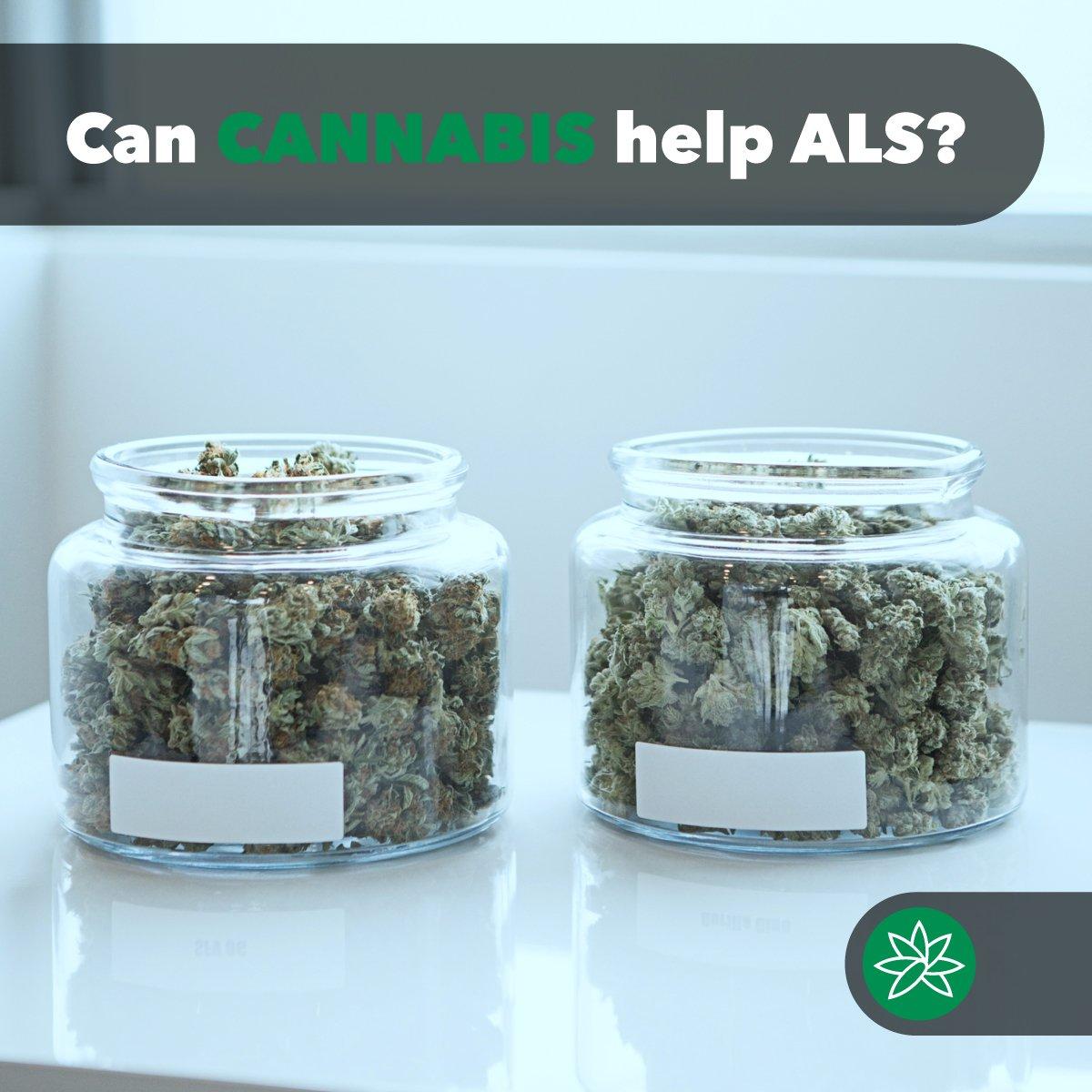 can cannabis help ALS?