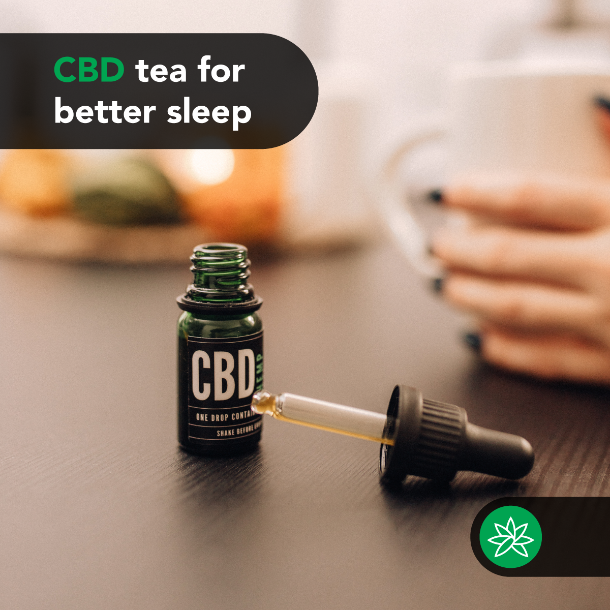 CBD tea for better sleep