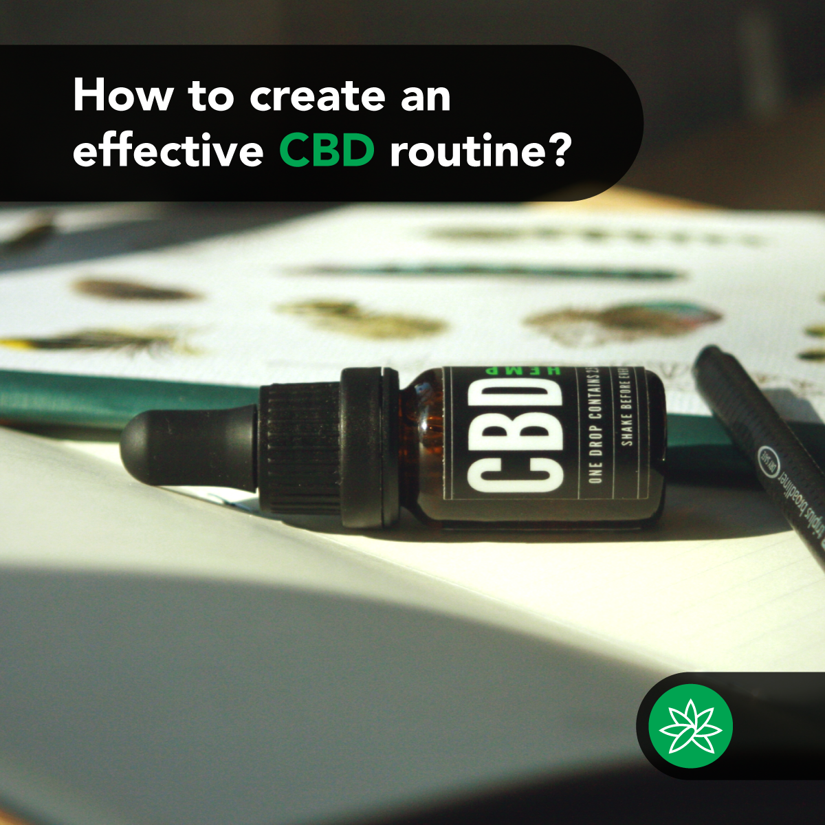 CBD routine